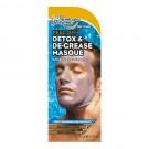 Peel-off Detox & De-grease Mask for Men 4-Pack